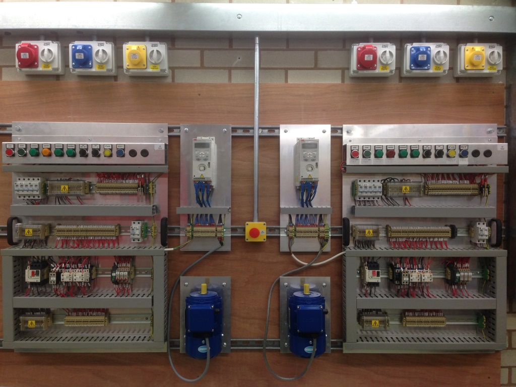 ABB ACS150 drives on Electrical Maintenance course